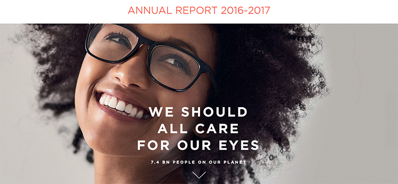 2016-2017 Essilor Annual Report
