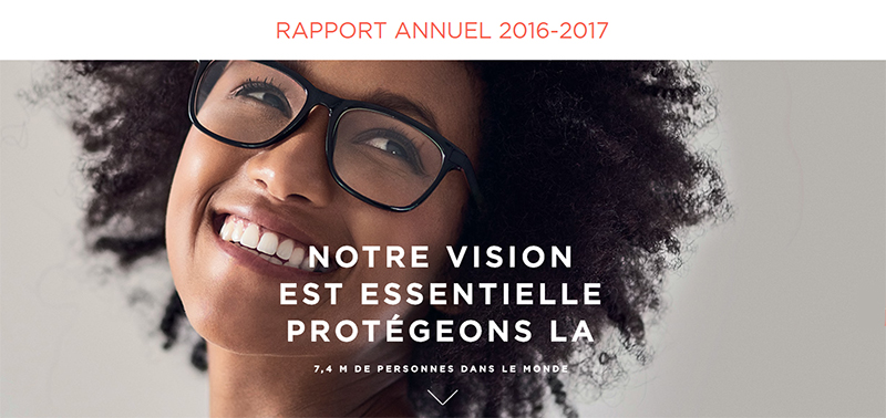 Rapport Annuel Essilor 2016-2017