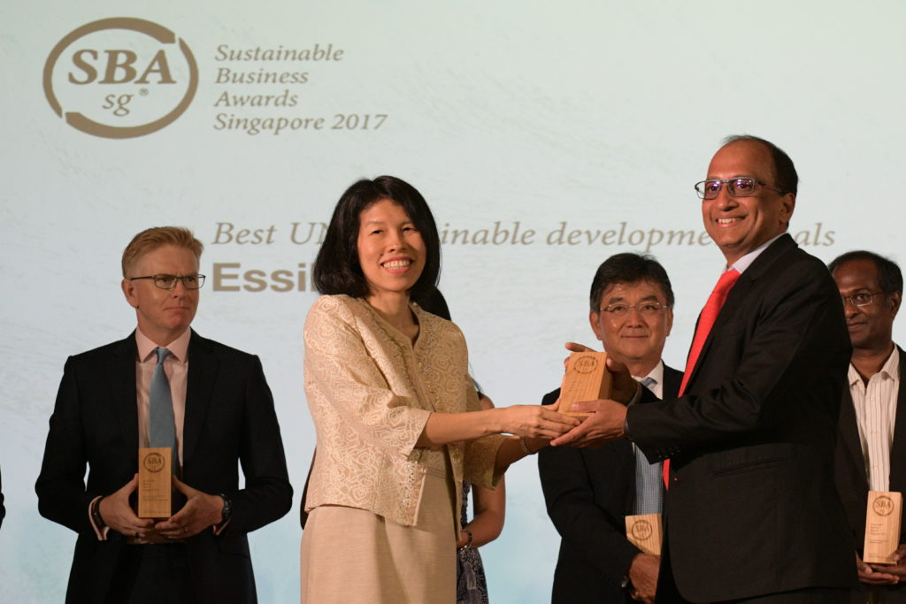 Essilor - Sustainable Business Award Singapore