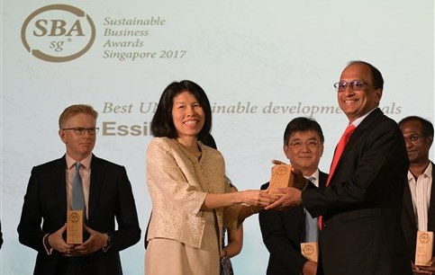 Essilor - Sustainable Business Award Singapore small